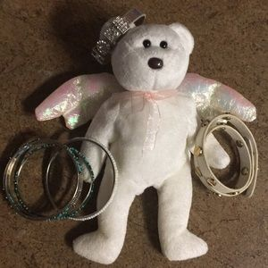 Hope Bracelets and Ty Beanie Baby Halo 1998